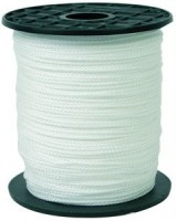 Drisse nylon tressé diamètre 3mm bobine 200m