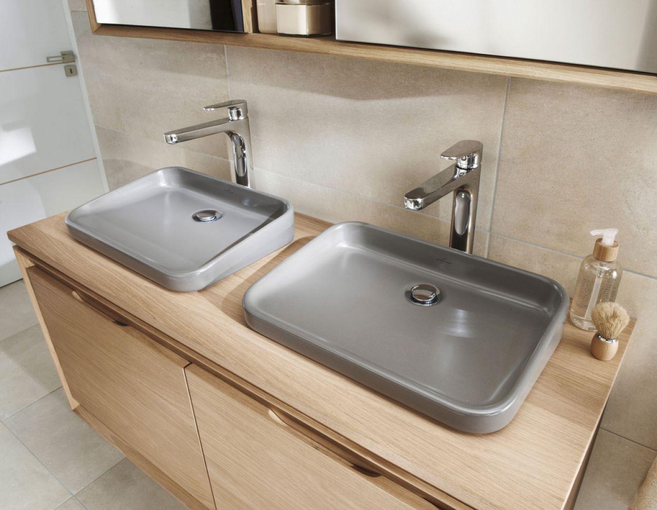 Vasque rio gr s sepia poser merignac 33701 for Destockage salle de bain