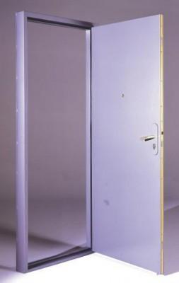 Bloc-porte palière isophonique prépeint 204x83cm droite