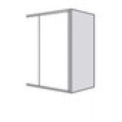 Coté décors (13) TWIST gris 98x33cm