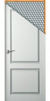 Porte postformée style épaisseur 34mm 83x211cm