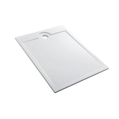 Receveur à encastrer LATITUDE L1200xl900xh35mm ultra-plat blanc ALLIA