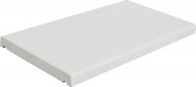 Chaperon 1 pente 50x28x4cm blanc cassé WESER
