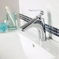 Mitigeur lavabo FUSION petit modèle chromé AQUANEO