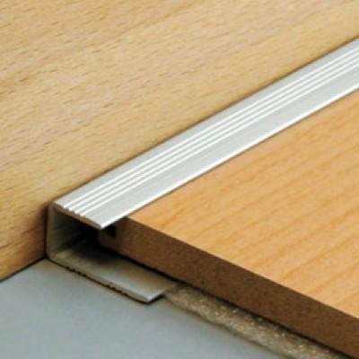 arr t bord parquet en aluminium naturel paisseur. Black Bedroom Furniture Sets. Home Design Ideas