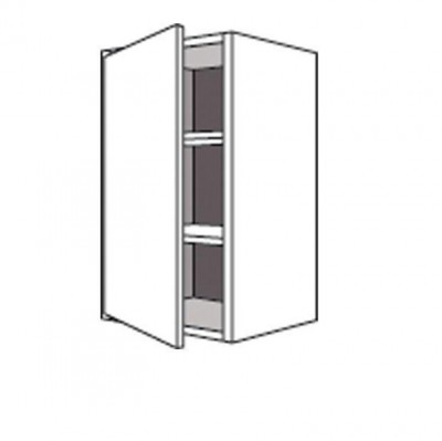 Porte REL casse TWIST anthracite 27.7x59.7cm