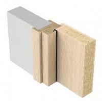 Huisserie fin de chantier prépeint blanc 204x73cm gauche