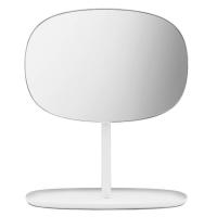 Miroir studio+table blanc largeur 60cm