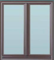 Fenêtre alu + (11) bronze 1247 115x100cm OB (expo)
