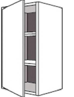 Porte TWIST gris L.V 57x59,5cm