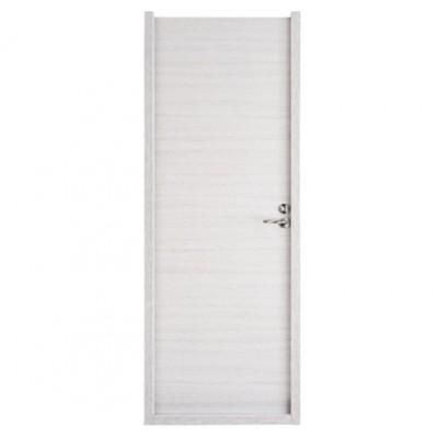 Bloc-porte VARIATION blanc structuré huisserie 72 204x83cm gauche