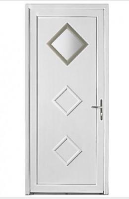 Porte QUIBERON PVC (10) UD 1.5 avec bar 200x90 gauche poussant