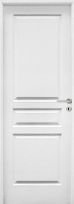 Bloc-porte postformé style veiné huisserie 90mm à recouvrement 204x63cm droite
