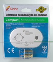 Détecteur de monoxyde de carbone kidde CLEARIT
