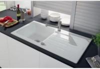 Evier stil 1 grand bac aluminium 100x50cm LUISINA
