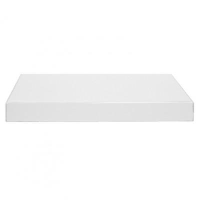 Plan stratifié chromé bicol 16mm blanc brillant largeur 300cm ...