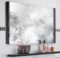 Miroir GLOSS anthracite largeur 60cm DECOTEC
