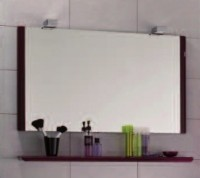 Miroir GLOSS prune largeur 80cm DECOTEC