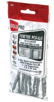 Boîte de 50 vis fenêtre aluminium PVC 18x 8.8x8cm cheville SOLUPRO