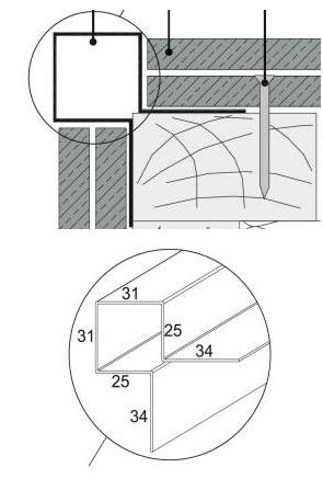 angle ext rieur cedral click en aluminium blanc everest 3000 c01 eternit hennebont 56700. Black Bedroom Furniture Sets. Home Design Ideas