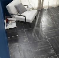 URBAN 2 noir 60x60cm rectifié groupe 5 R9 antiglissant le m²