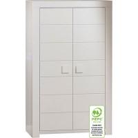 Porte armoire zen blanc 69.7x29.7cm