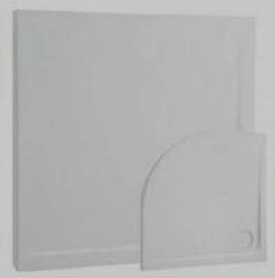 Receveur ALPHA acryl extraplat à poser 120x80cm