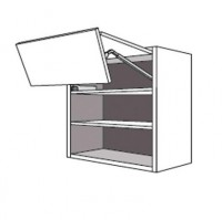 Porte pliante TWIST gris 34.7x79.7cm