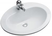 Vasque ovale MADRAS 2 blanche (09)