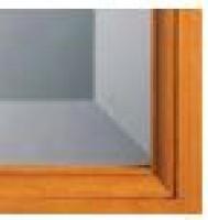 Biseauté miroir boîte 4 carreaux dimensions 34,4x27,6 droite