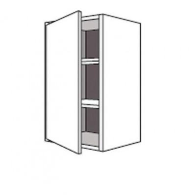 Porte relais/casse TWIST anthracite 34,7x79,7cm