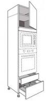 Porte cass.TWIST anthracite 41.7x39.7cm