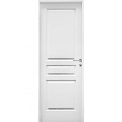 Bloc-porte postformé style vitré veiné huisserie 90mm à recouvrement 204x83 gauche