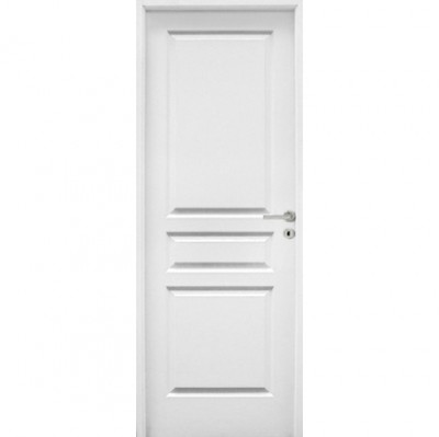Bloc-porte style veiné huisserie 90mm à recouvrement 204x83cm droite