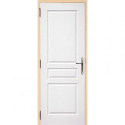 Bloc-porte postformé isotherme huisserie 72mm à recouvrement 204x73cm gauche