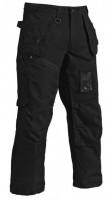 Pantalon coton canvas 340gr noir taille 40/C46 BLAKLADER WORKWEAR