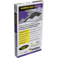 Weber système impact colle kit 5m2