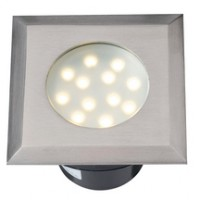 ELARA inox/synthétique LED 12 blanc 115x115cm TECHMAR BV