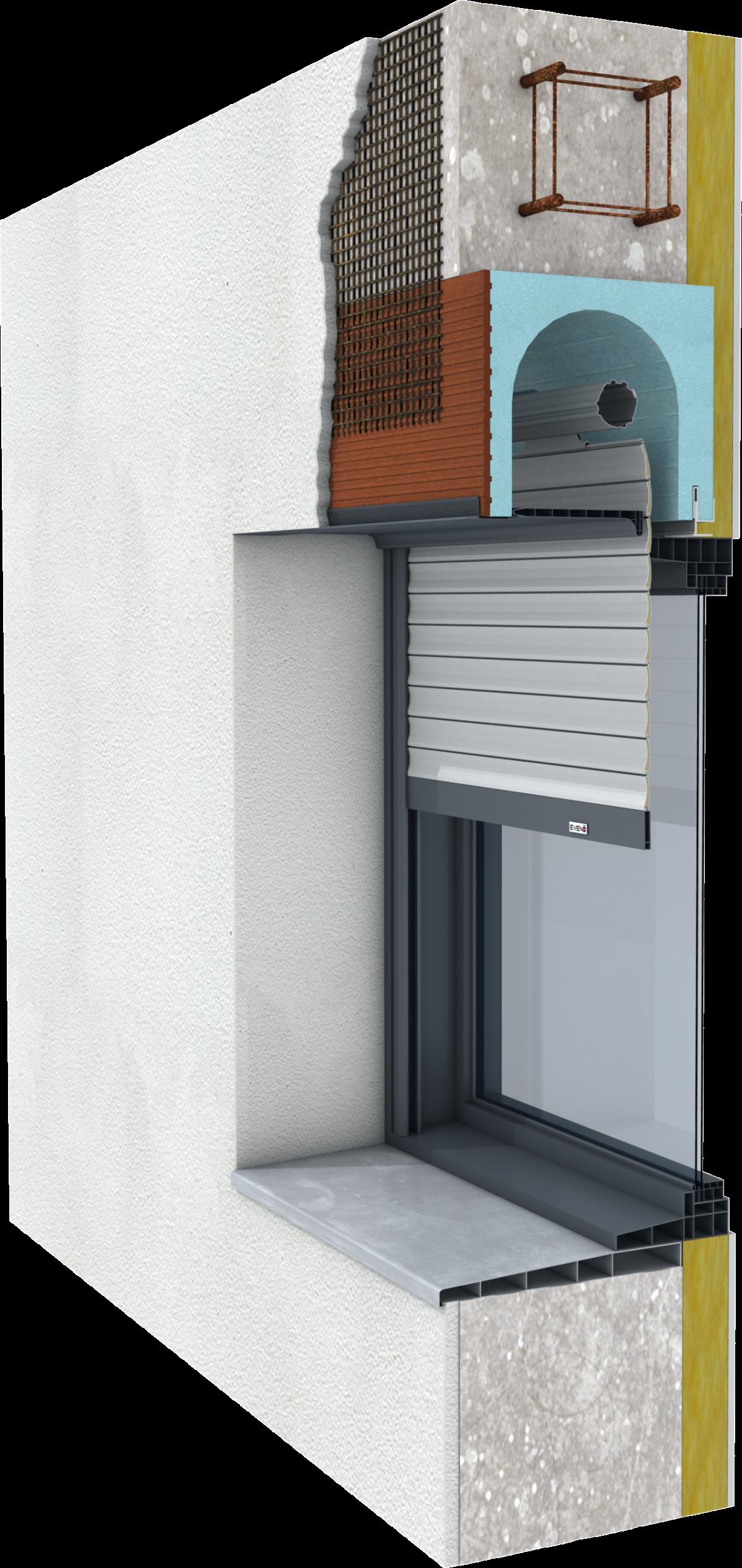 lame volet roulant blanc ajour e 60mm 3ml eveno fermetures la roche sur yon 85000. Black Bedroom Furniture Sets. Home Design Ideas