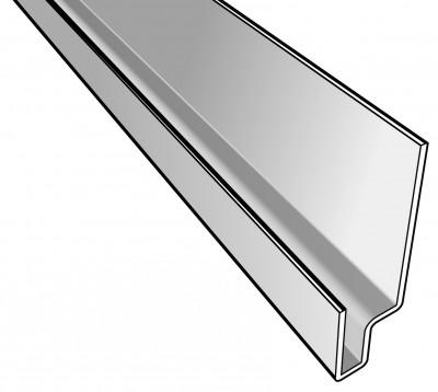 cedral profil linteau click blanc everest c01 eternit periers 50190 d stockage habitat. Black Bedroom Furniture Sets. Home Design Ideas