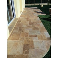 TRAVERTIN 15,3x15,3x3 mix beige VX CREAS