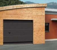 Porte de garage acier, sans nervures lisse 2000x2375mm NOVOFERM