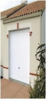 Porte de garage DL acier; nervure verticales 1920x2500mm NOVOFERM