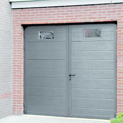 porte de garage battante 45mm 199x250cm 2 vantaux eg saint quentin fallavier 38070. Black Bedroom Furniture Sets. Home Design Ideas