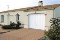 Porte de garage basculante métal DWM 200x240cm débordante sans rails