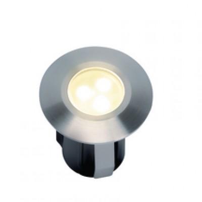 Alpha inox/synthétique LED 3 blanc 42x40mm TECHMAR BV