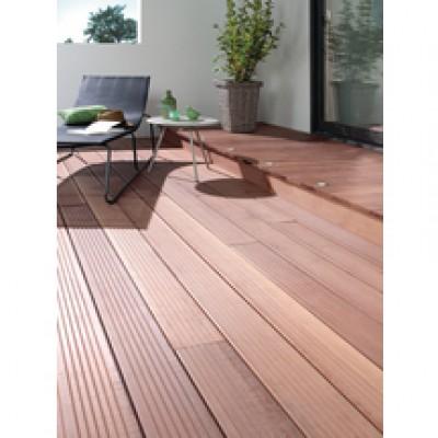 lame de terrasse massaranduba kd 6 rainures v 21x145x3050mm dmbp distri mat bois panneaux. Black Bedroom Furniture Sets. Home Design Ideas