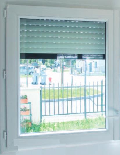 Porte-fenêtre 2120x870mm 1 vantail, dormant rénovation gamme THERMIENCE PVC BOUVET SAS - Saint ...