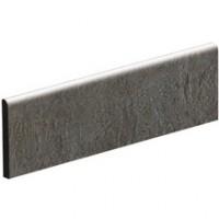 Grès cérame creative concrete gris fonce mat plinthe 9,5x45cm IMOLA