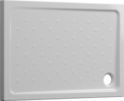 Receveur à poser SEDUCTA 2 extraplat antidérapant blanc 80x120cm